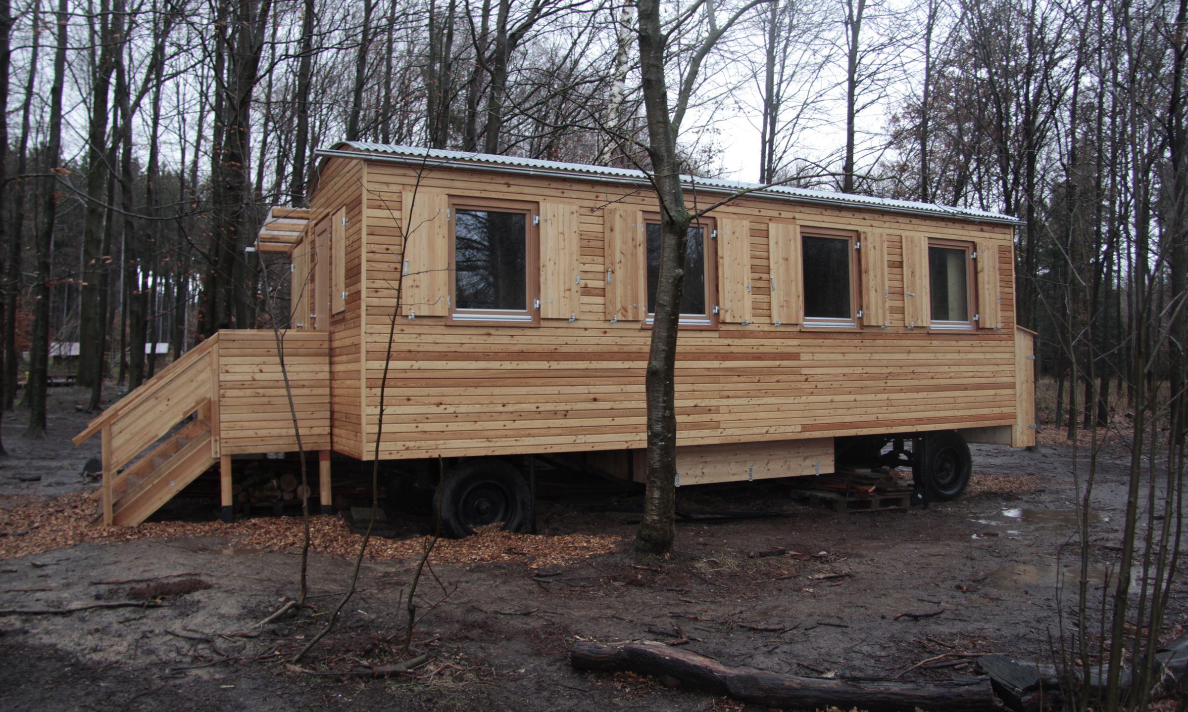 tiny house waldkindergartenwagen m nchen und umgebung. Black Bedroom Furniture Sets. Home Design Ideas